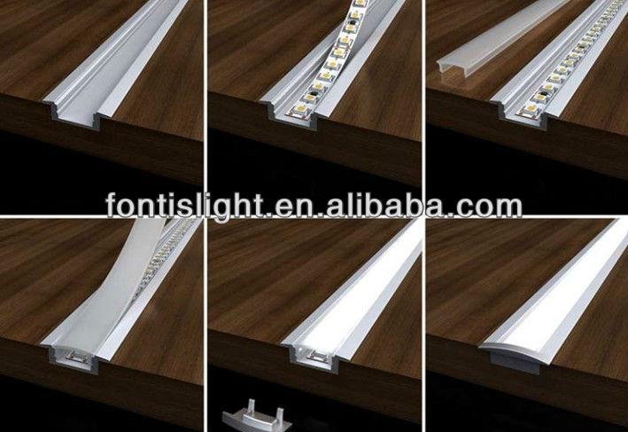 Led Light Strips For Kitchen : ribbon metres led aluminium profile casing led