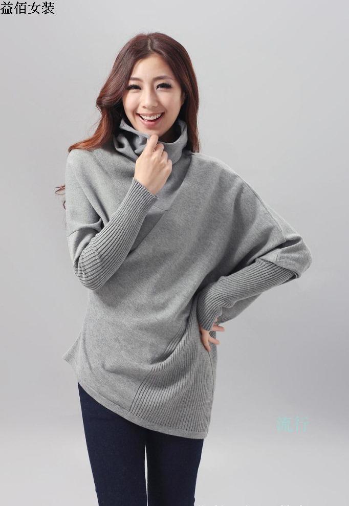 Серый пуловер женский с доставкой