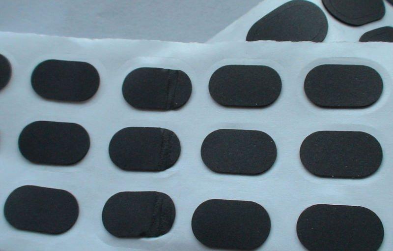 poron o-ring with adhesive