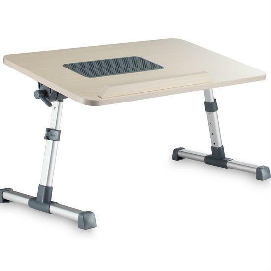 Rage bois d ployante r glable table pour ordinateur for Table pour ordinateur portable