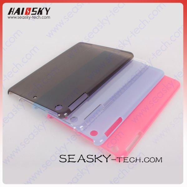 Colorful PC Crystal Case for ipad mini