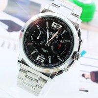 Наручные часы Brand New Men's Stainless Steel Luxury Quartz Watches, Precise Japan Quartz Movement Wathes