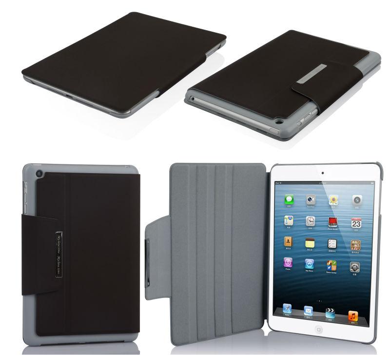 2014 new arrival newest design fashion colorful for ipad leather case for Ipadmini