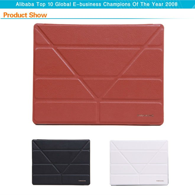 High quality PU CASE for ipad 4