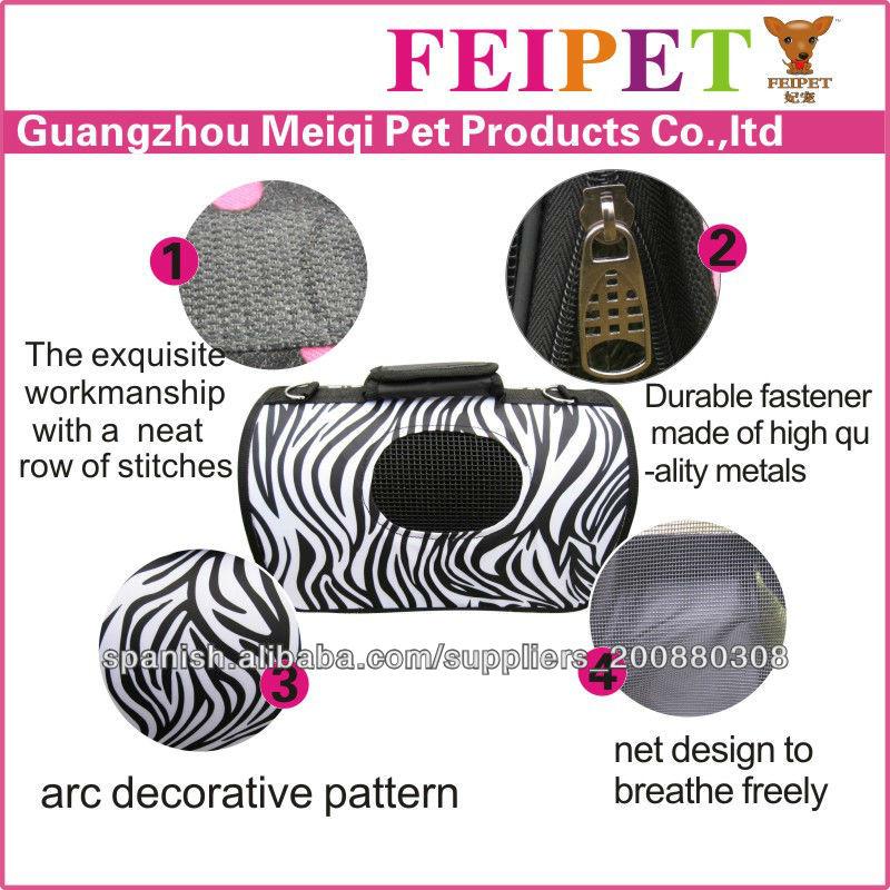 Factory Price Petsmart Pet Carriers Zebra-stripe Carrier