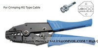 Ratchet terminal crimping tools For Crimping RG Type Cable