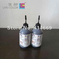 Набор чернил LIVE COLOR 2*100ML black inkjet refill dye ink for all Canon desktop printers universal, For Canon 21, 24, 3e, 5, 6, 8 series