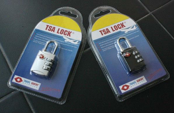 3 цифры TSA кодовый замок, Tsa-302