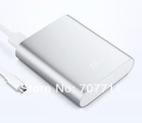 1pc 10400mAh Original Xiaomi Power Bank for iPhone Samsung HTC External Battery + Micro usb cable + retail box Freeshipping