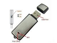 Брелок 2 в 1 usb диктофон с 4 ГБ памяти скрытый цифровой диктофон