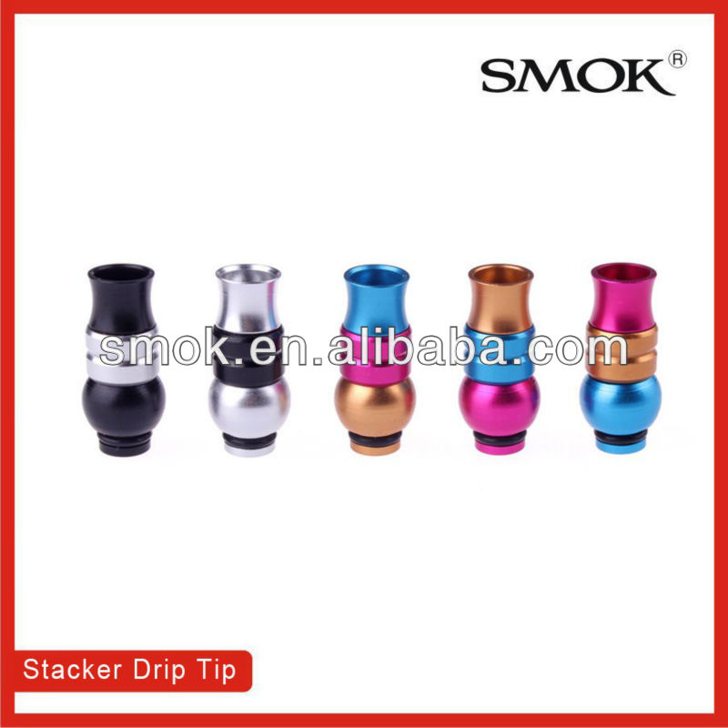 Amazing 2013 smoktech e-cigarette 510 Slotted/Belly/Concave Transformer drip tips