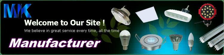 1W CE&ROHS Passed Aluminium LED Lamp Housing
