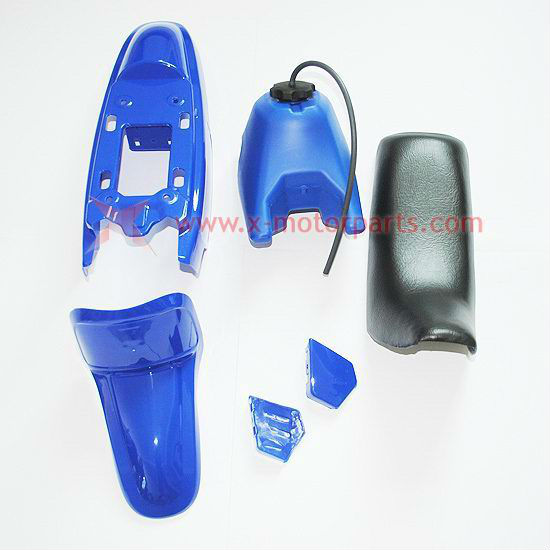 50PY PW50 PY50 PW 50 PLASTIC SEAT GAS TANK KIT BLUE