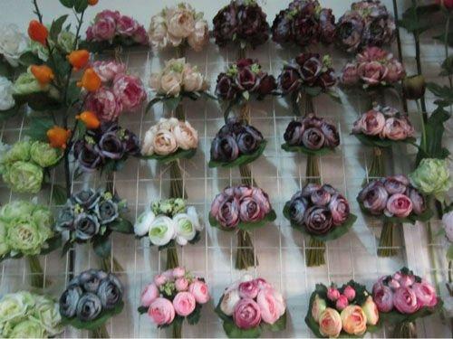 Decoração de casamento flor artificialFlores e arranjos decorativos