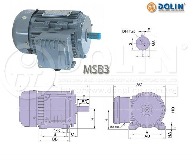 AC Induction Motor Taiwan Motor