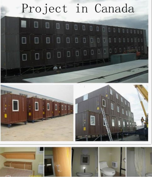 shipping container house modified container house