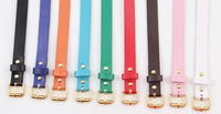 Женские ремни и Камербанды Women's Candy Color PU Leather All-match Wide Waist Belts