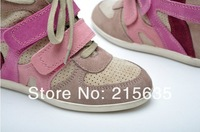 Женские кеды Powder apricot increased in tide shoes wedge spell with high color for shoes