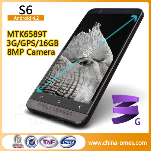 Sales in China First 5inch HD Screen S6 Android Mobile Phone Alibaba China