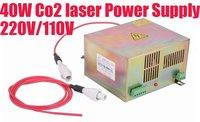 Запчасти для лазерного оборудования 40W Co2 /Co2 40w/35w, 220 /110
