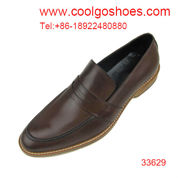 Elegant comfortable leather mens formal shoes manufacture made in guangzhou