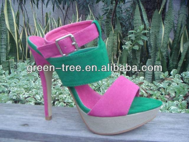 Fashion high heel latest shoes