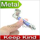Новый магнит Металл складные курительная трубка, металлические курительная трубка