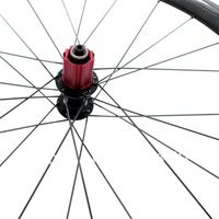 Велосипедное колесо YS-CP38C carbon clincher wheels 38mm