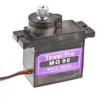 Запчасти и Аксессуары для радиоуправляемых игрушек Micro MG90 Servo 1 Nx MG90 Gear 9g Rc Futaba BB506