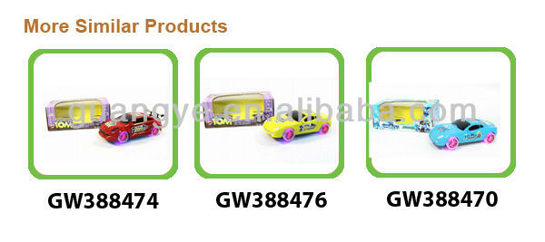 Best-selling Plastic Miniature Toy Cars