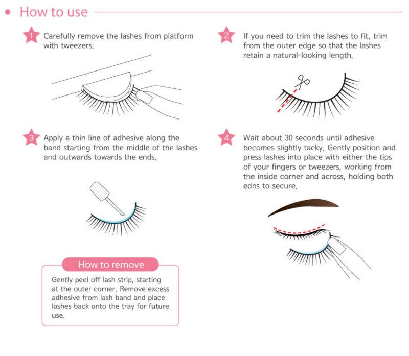 Strip False Eyelash Adhesive/false Eyelash Glue/eyelash Extension ...