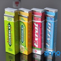 Chutty Lighter,Chewing Gum Lighters ,Green Arrow (windbreak and green flame)  24pcc/lot,Free Shipping