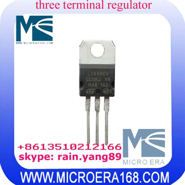 L7805cv три терминала регулятор схемы to-220 ул-Интегральные схемы ...