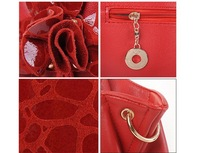 Маленькая сумочка Special Offer New Women Bags[GENUINE LEATHER+ Microfibre]Restore Shoulder Bags Tassel Handbag