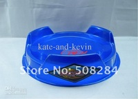 Beyblade metal fusion stadium Beyblade arena Beyblade part accessories blue