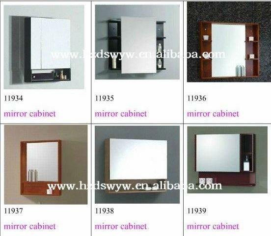 swivel bathroom mirror cabinet 1