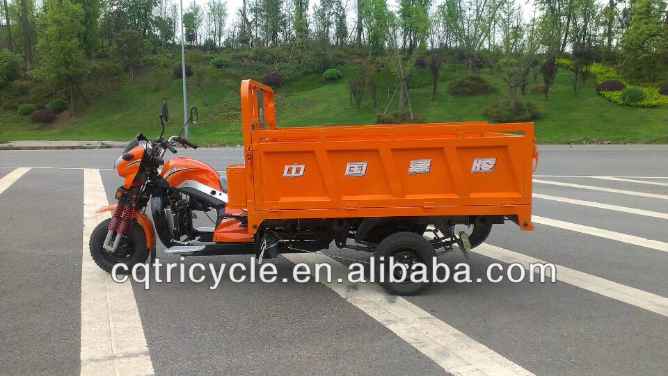 200cc gasoline tricycle for cargo max loading 1500kg