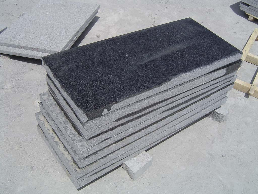 dark granite slabs
