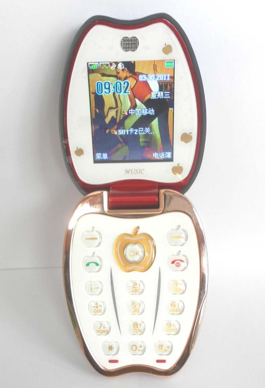 Điện thoại trái táo hoa văn