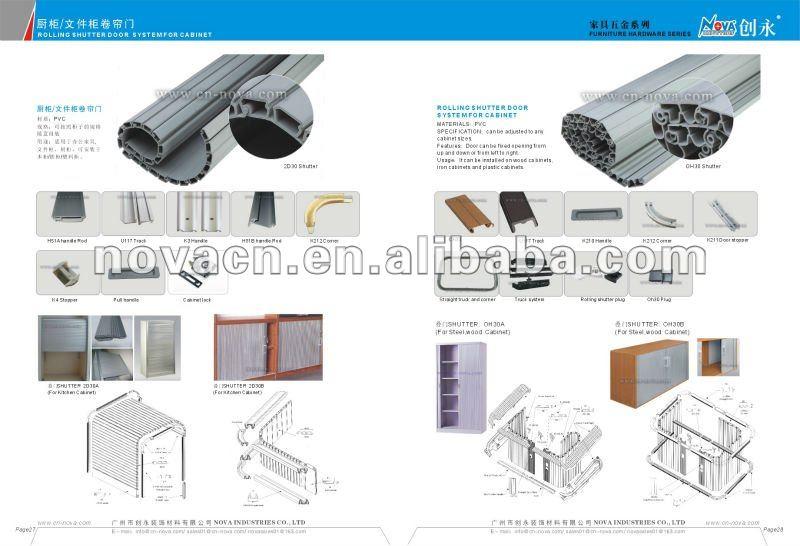 roller shutter cabinet doors 2