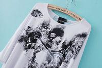 Женская футболка Ai shi shang 3108