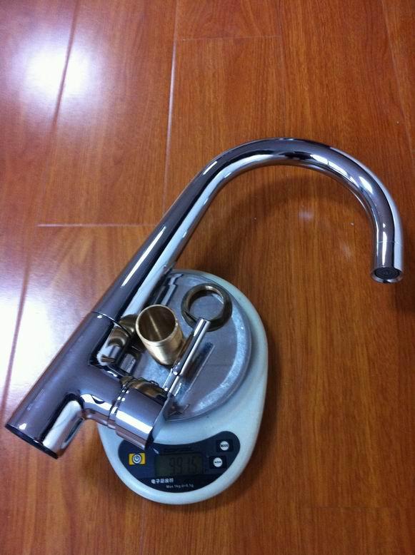 high quality brass kitchen mixer