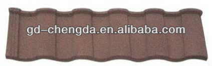 Roman Metal Stone Coated Roof Tile house construction finishing material