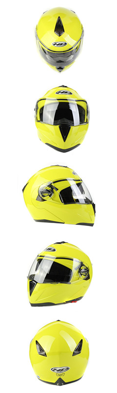 New arrival double visor flip up motorcycle helmet HD-701