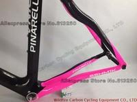 Рама для велосипеда Road Bike Pink-Black Full CarbonFiber Frame For Girl/Gift