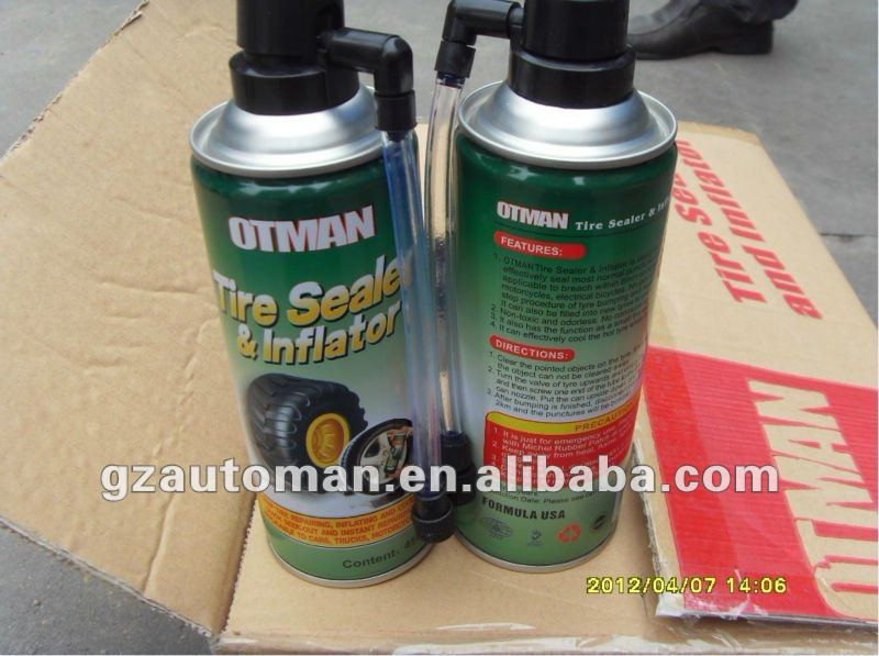 450ml Tire Sealer and Inflator Tyre Sealant
