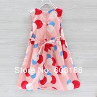 Новая точка Принцесса платья девочки платья baby kid летней одежды {iso-14-5-31-А1