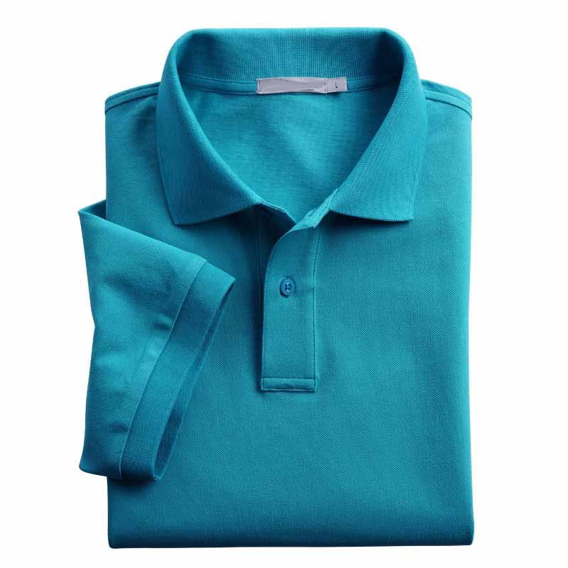 Haute qualité 100% coton de sport plaine polo shirt pour hommes