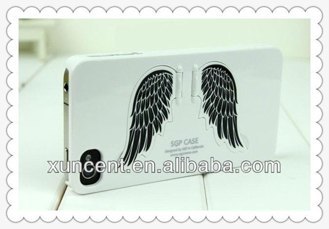 Wholesale Kawaii Angel Wing color phone case for iphone5/5g