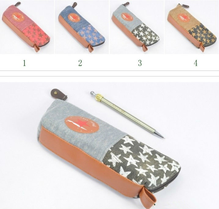Super Star Design Pencil Case